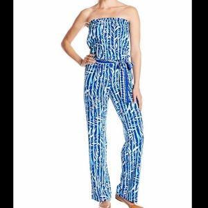 Lilly Pulitzer Santorini Blue Jumpsuit
